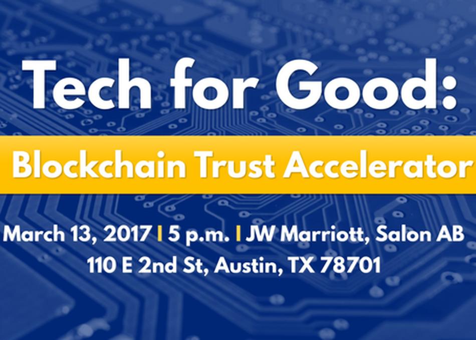 Tech for Good: Blockchain Trust Accelerator