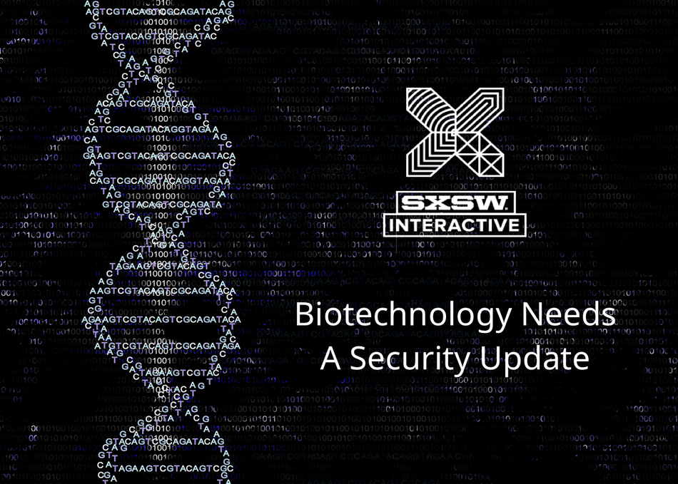 Biotechnology Needs a Security Update