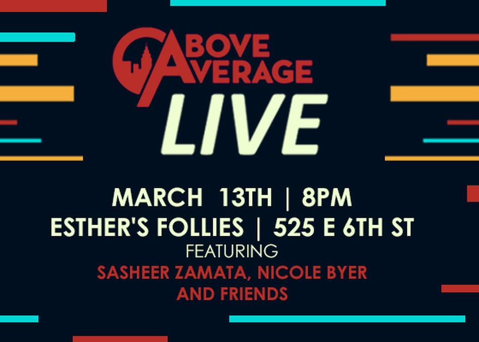 Above Average Live