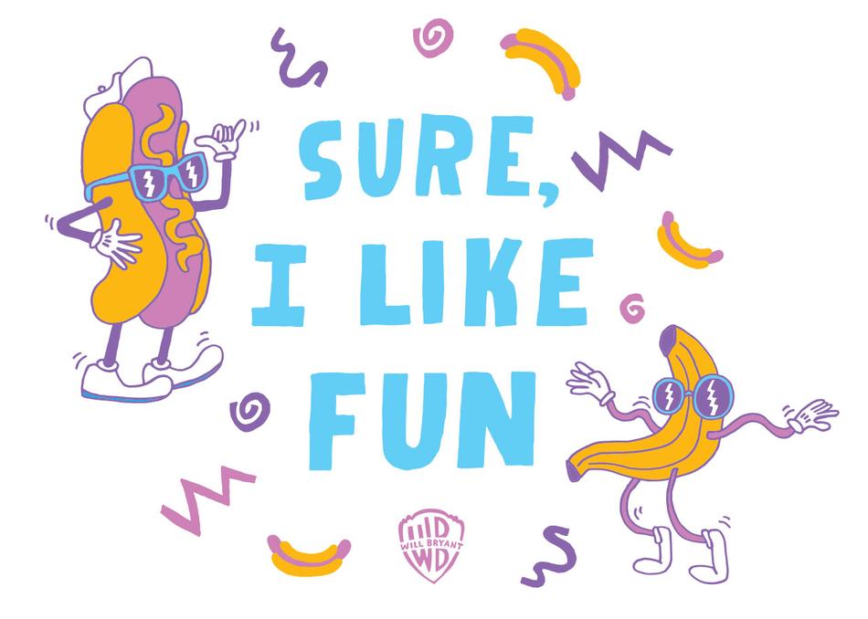 Sure, I Like Fun: Jokes, Illustration, Etc