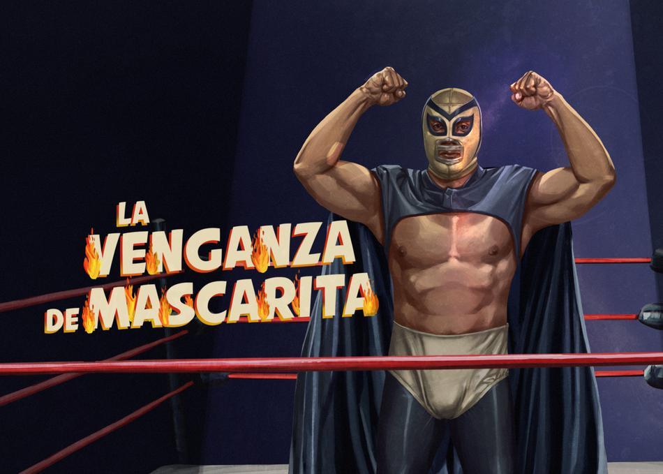 La Venganza de Mascarita Title Sequence