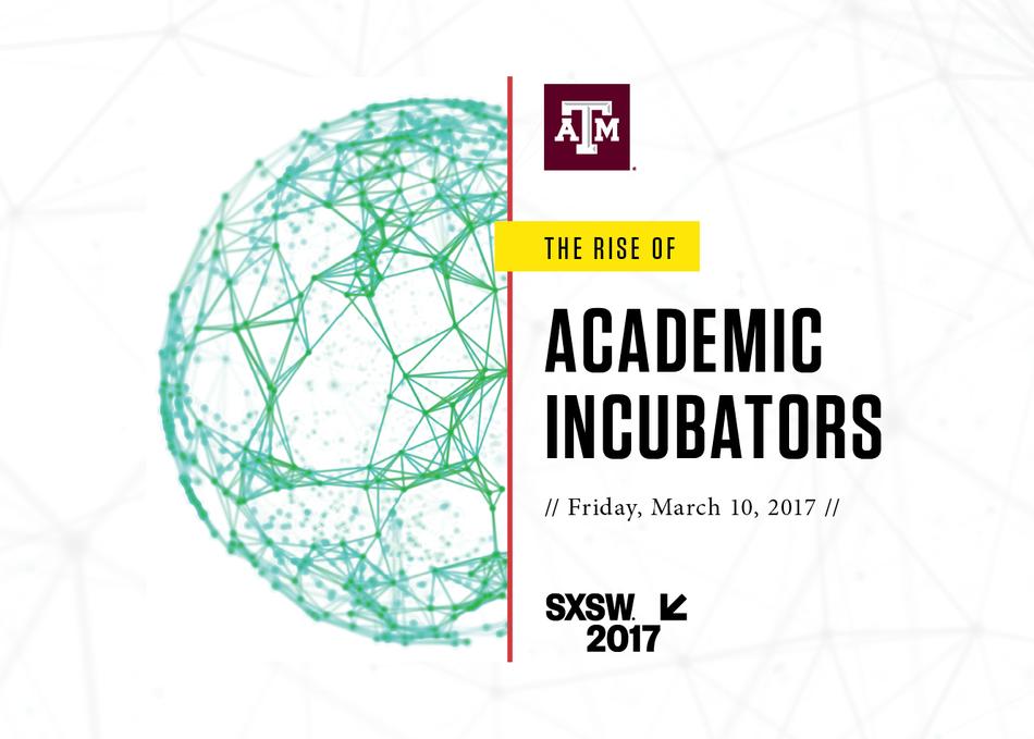 The Rise of Academic Incubators