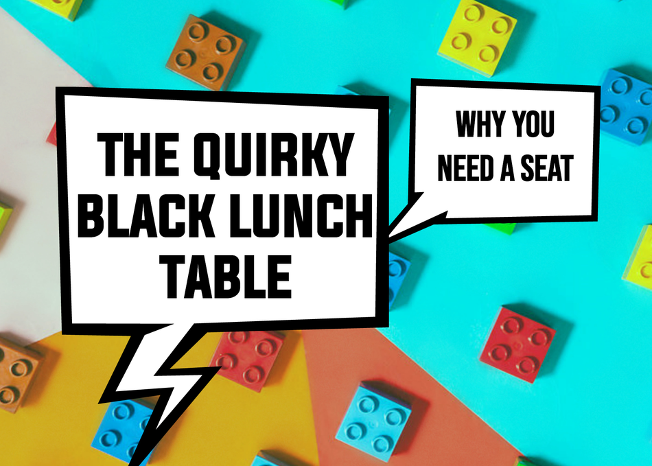 The Quirky Black Lunch Table: Why You Need A Seat