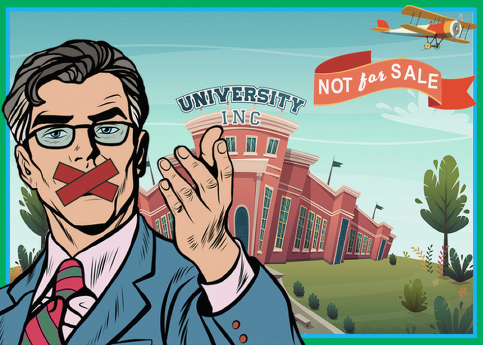 Not for Sale: Academic Freedom at University, Inc.