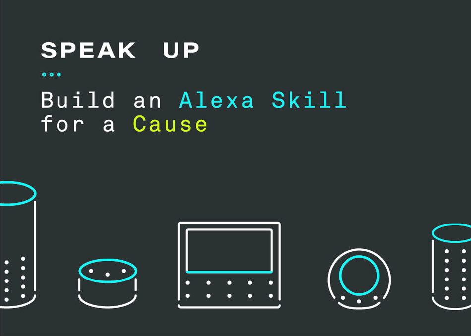 Speak Up! Build an Alexa Skill for a Cause