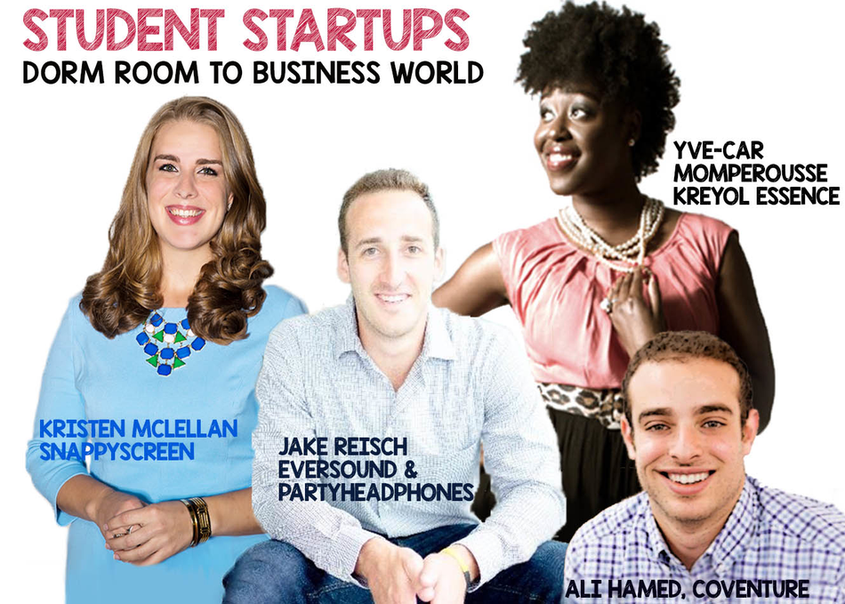 Student Startups: Dorm Room to Business World