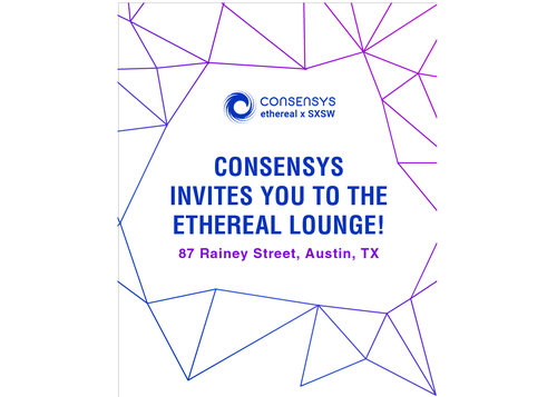 Ethereal Lounge powered by ConsenSys