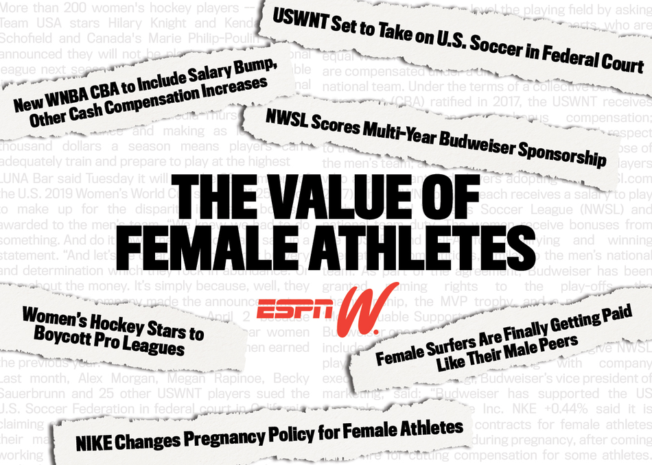 The Value of Professional Female Athletes