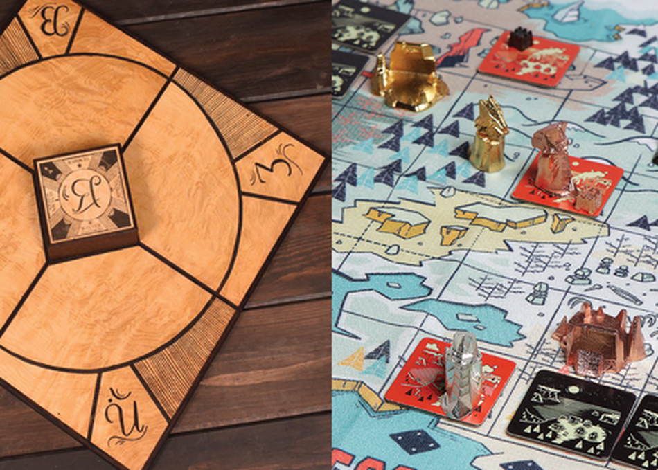 Tabletop Game Design: The Impact of Materials