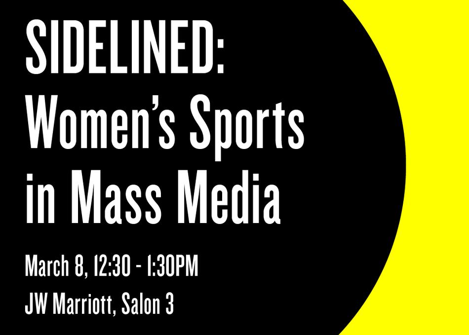 Sidelined: Women's Sports in Mass Media