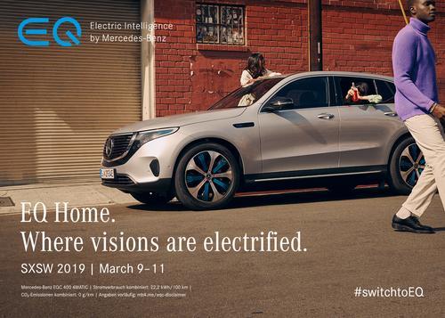 Mercedes-Benz EQC Co-Drives