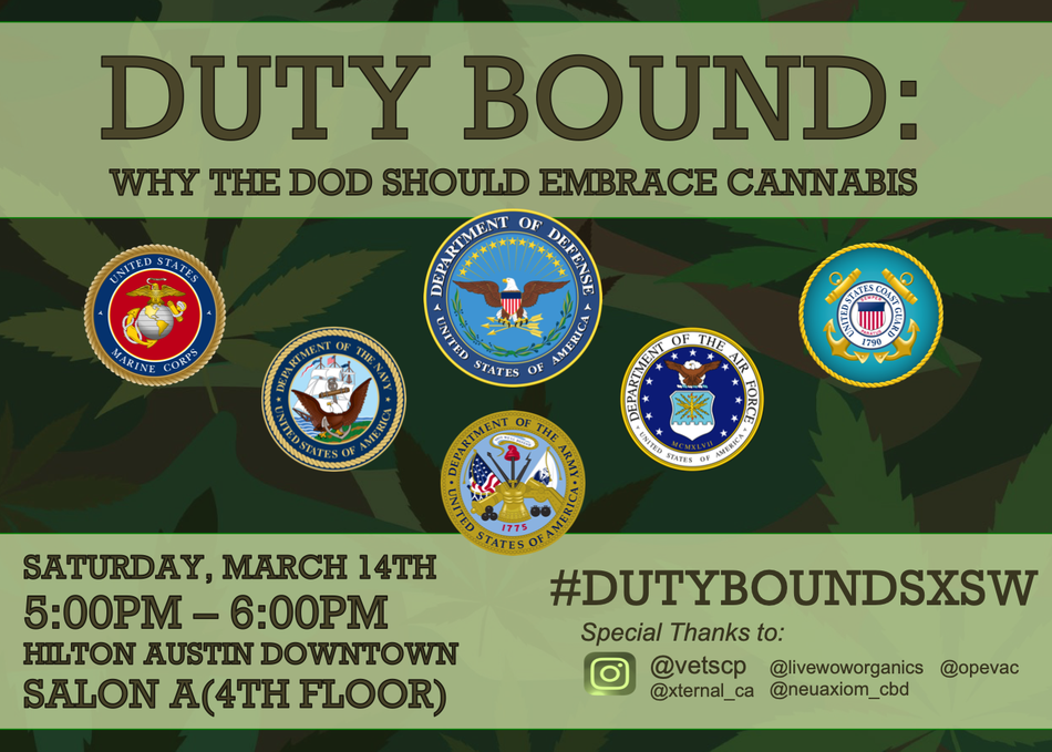 Duty Bound: Why the DoD Should Embrace Cannabis