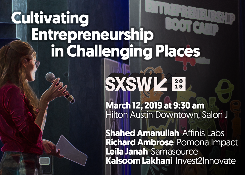 Cultivating Entrepreneurship in Challenging Places