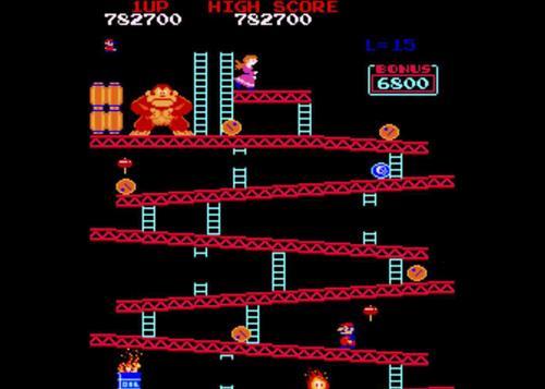 Donkey Kong High Score Challenge