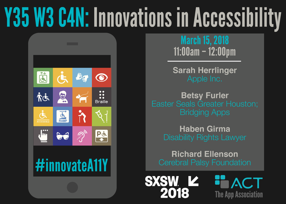 Y35 W3 C4N: Innovations in Accessibility