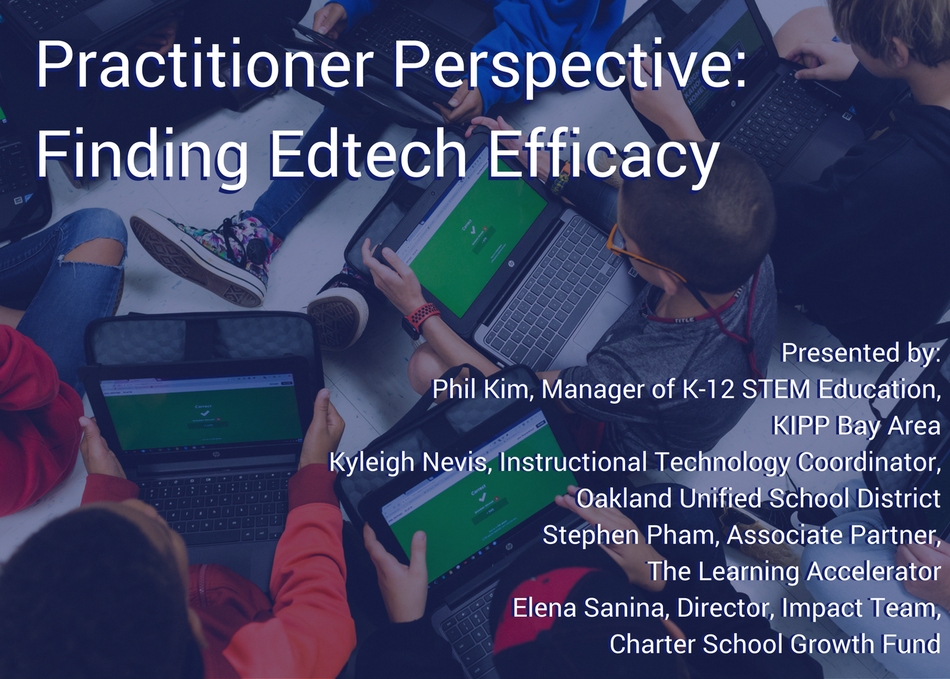 Practitioner Perspective: Finding Edtech Efficacy