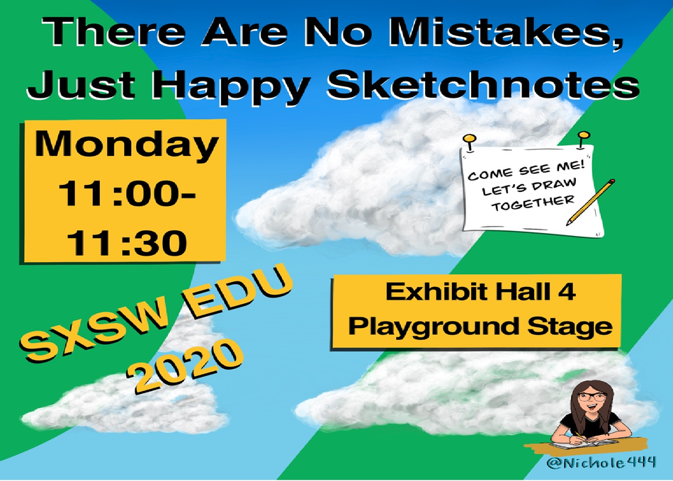 There Are No Mistakes, Just Happy Sketchnotes