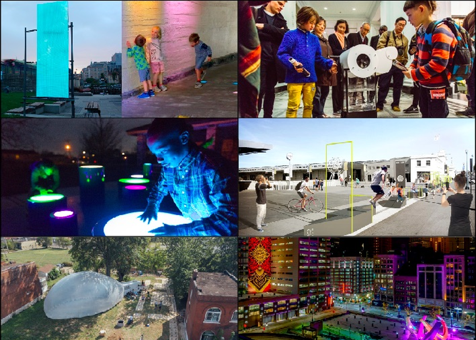 Place by Design: Art, Tech & Interaction in Public