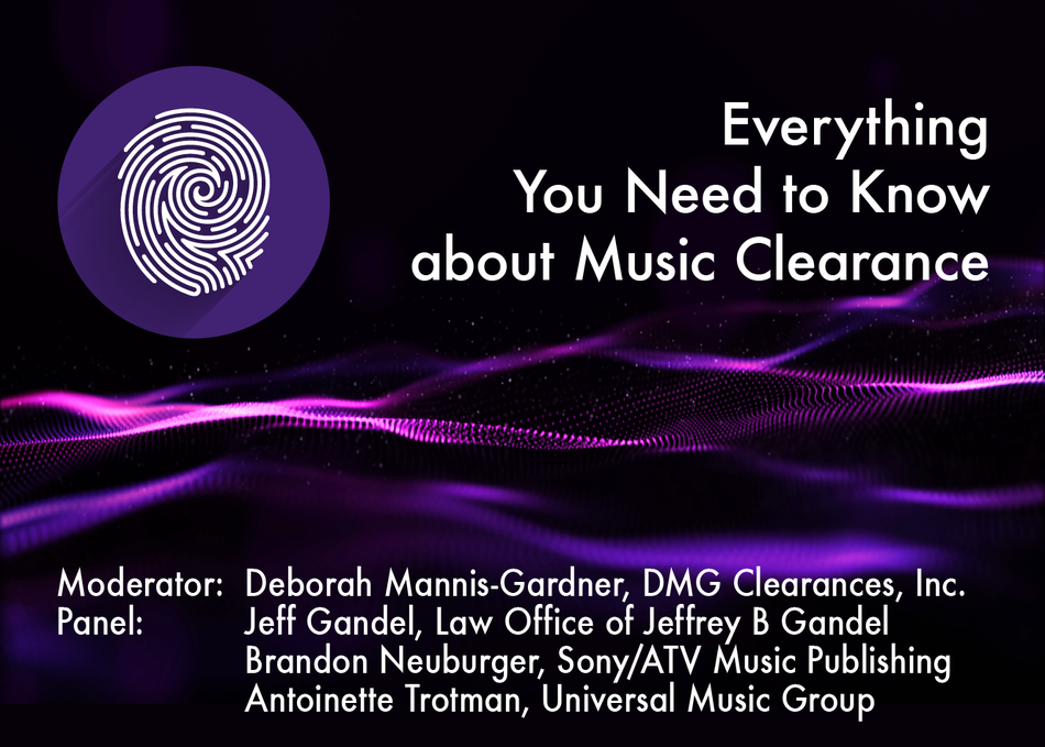 Workshop: Everything You Need to Know about Music Clearance