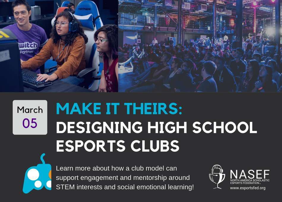 Make It Theirs: Designing High School Esport Clubs
