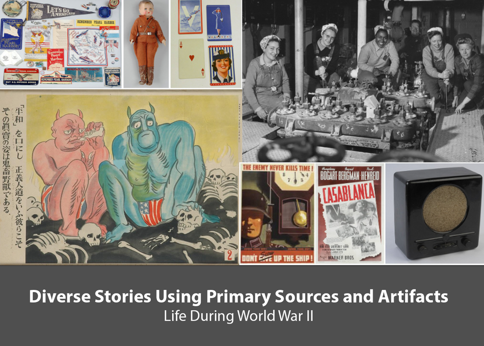 Diverse Stories Using Primary Sources & Artifacts