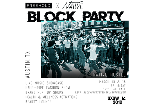Freehold x Native Block Party