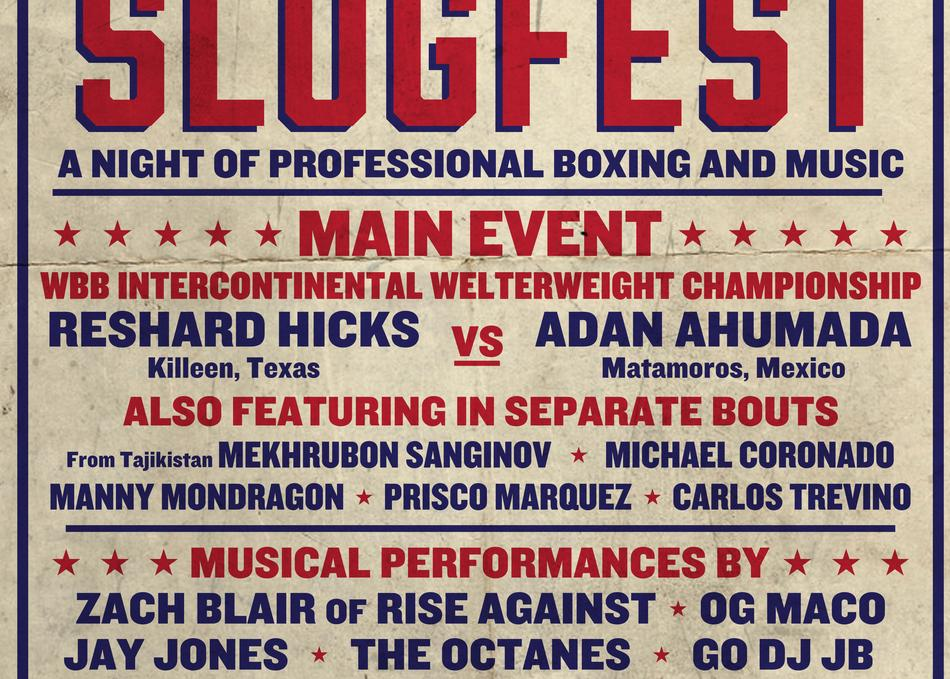 SXSW SLUGFEST - A Night of Pro Boxing and Music
