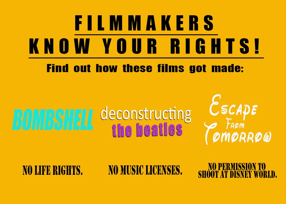 Workshop: Fair Use & Filmmaking