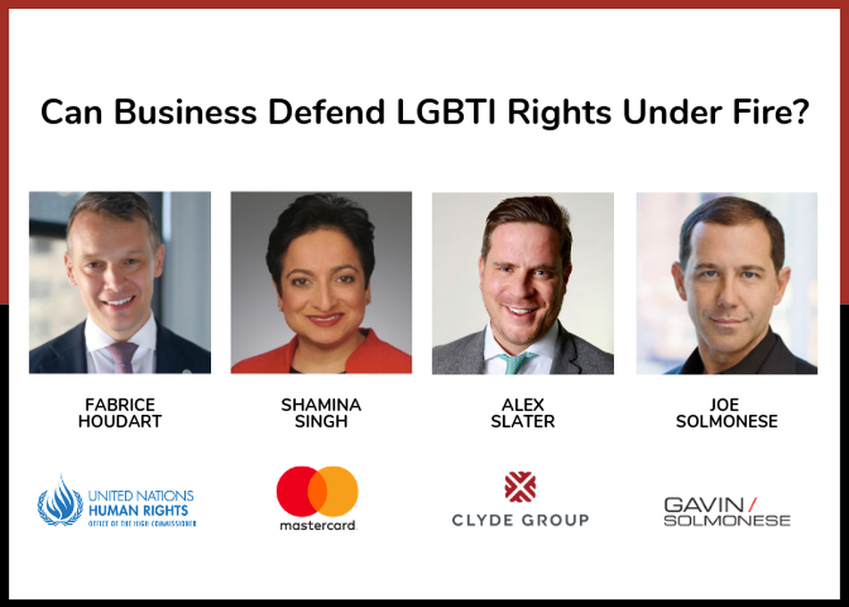 Can Business Defend LGBTI Rights Under Fire?