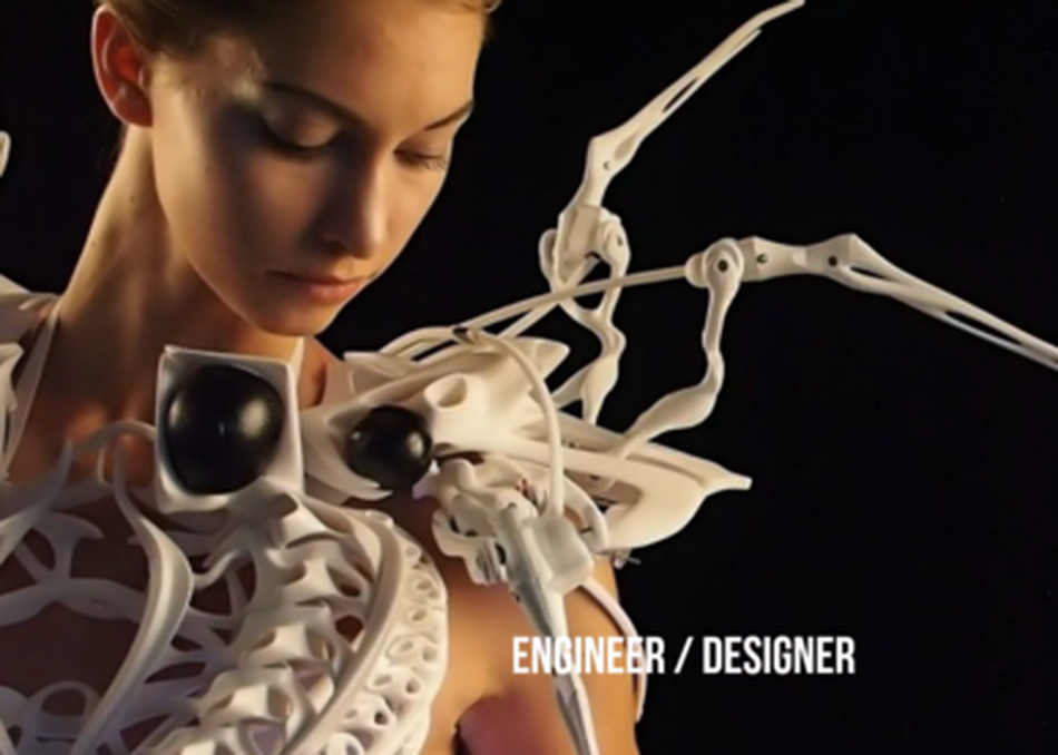 Crossover of Future in Art×Tech by Women in Design