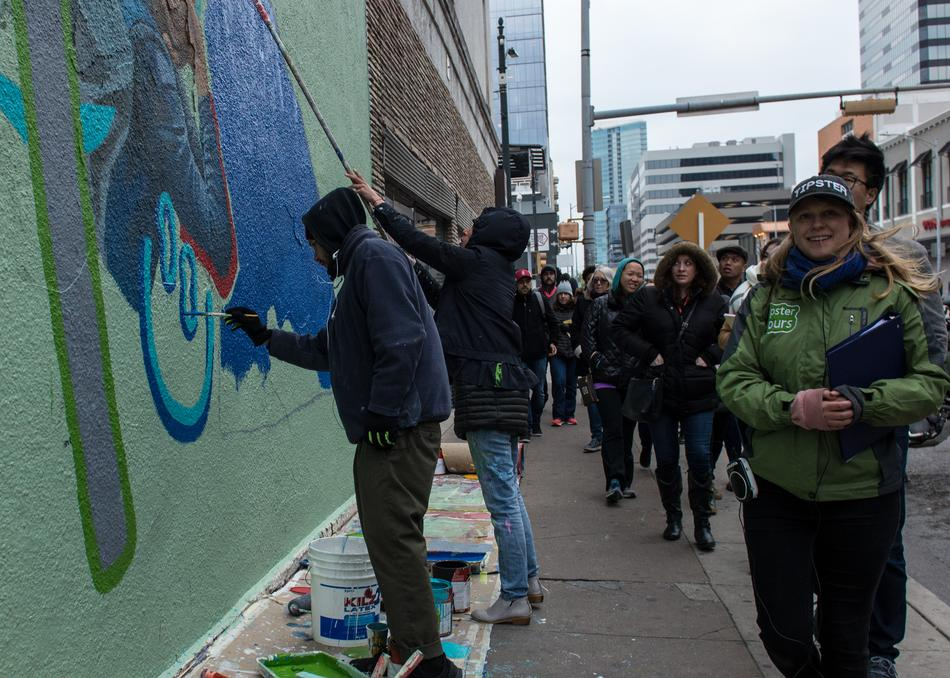 Austin East Side Art Walking Tour Monday