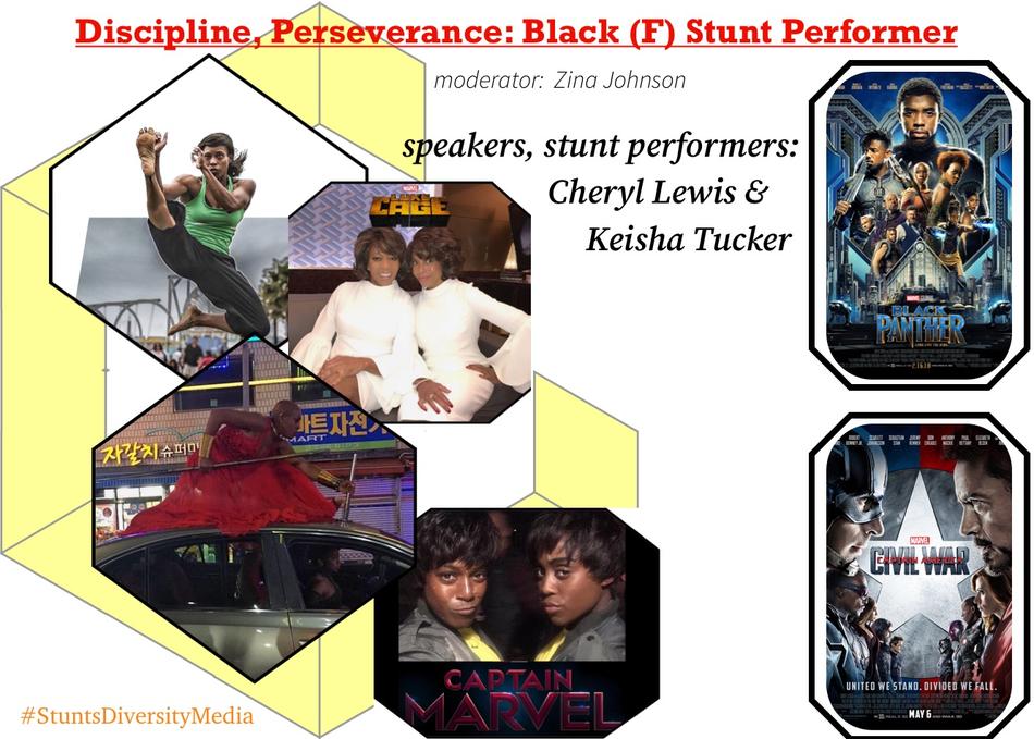Discipline, Perseverance: Black (F) Stunt Performer