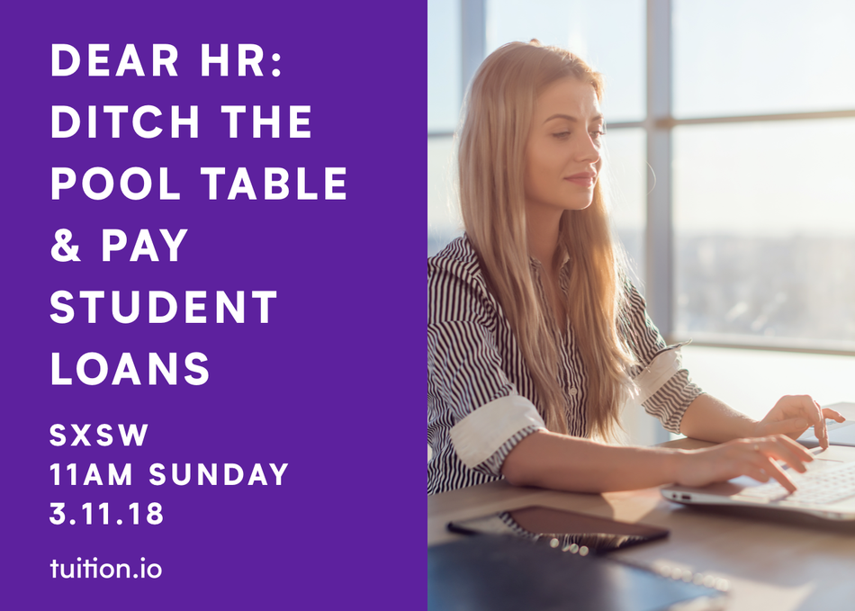 Dear HR: Ditch the Pool Table & Pay Student Loans