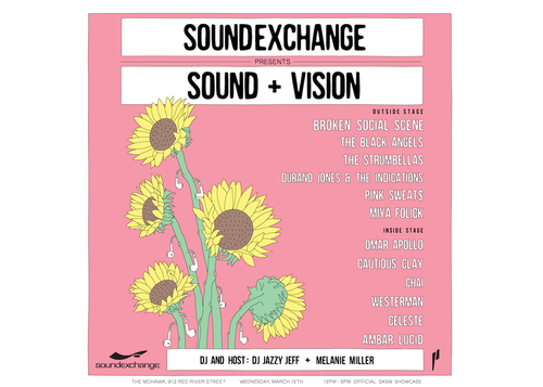 Sound + Vision presented by SoundExchange & Paradigm Talent Agency