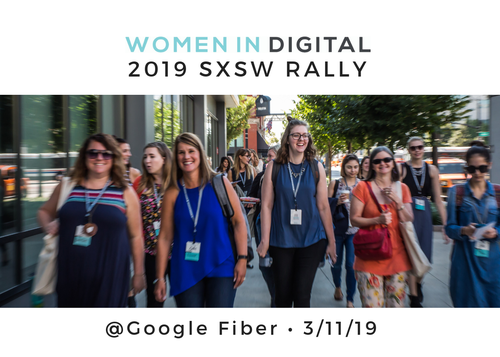 SXSW Women in Digital Rally