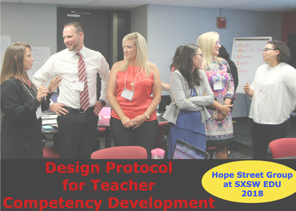 Design Protocol for Teacher Competency Development
