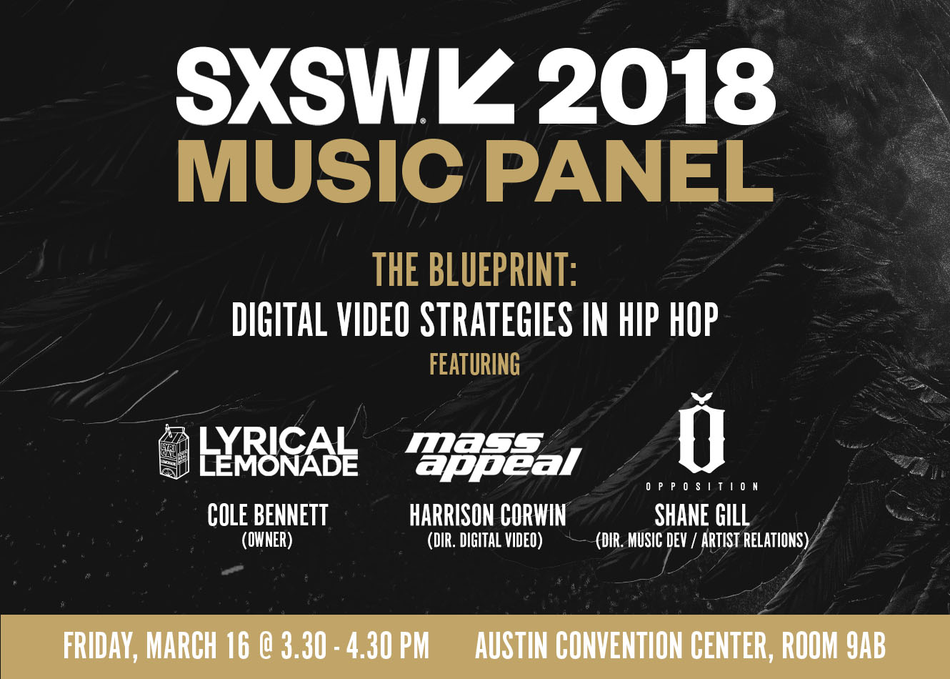 Sxsw 2018 schedule the blueprint digital video strategies in hip hop malvernweather Images