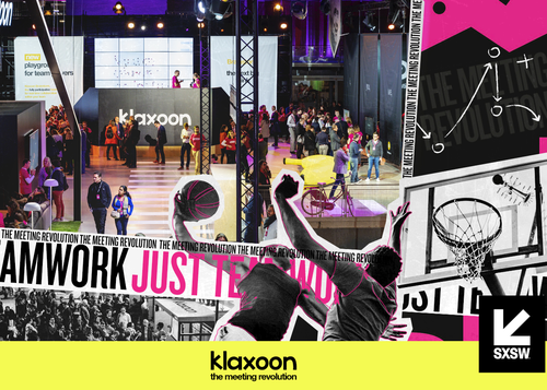 Klaxoon at SXSW: the power of teamwork