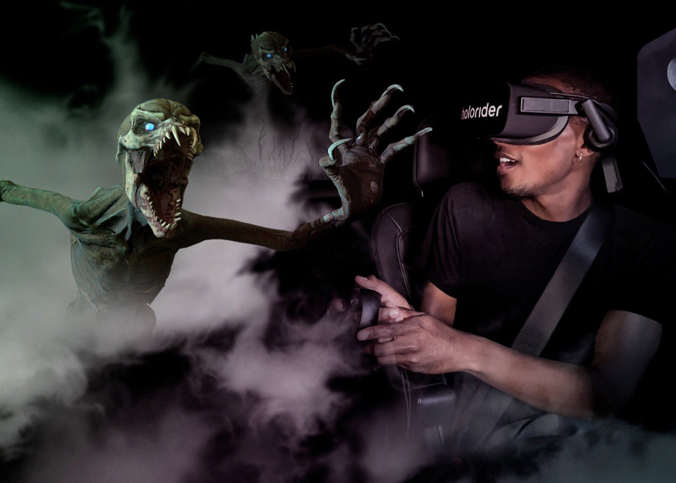 Eyes Off The Road! Universal's Drive For In-car VR