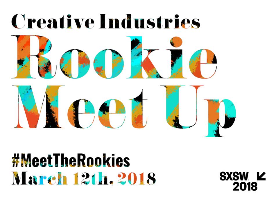 Creative Industries Rookie Meet Up