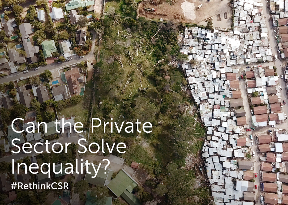 Can the Private Sector Solve Inequality?