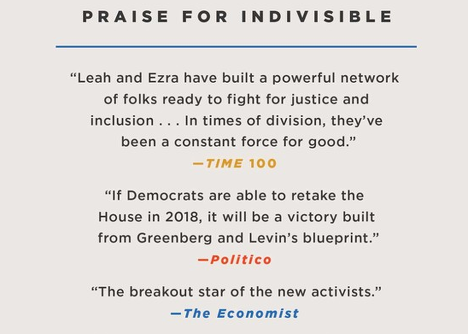 Democracy after Trump: A Look Ahead with the Founders of the Indivisible Movement