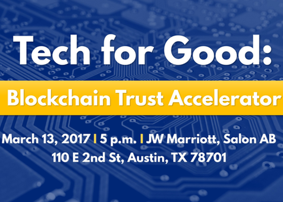 Tech for Good: Blockchain Trust Accelerator