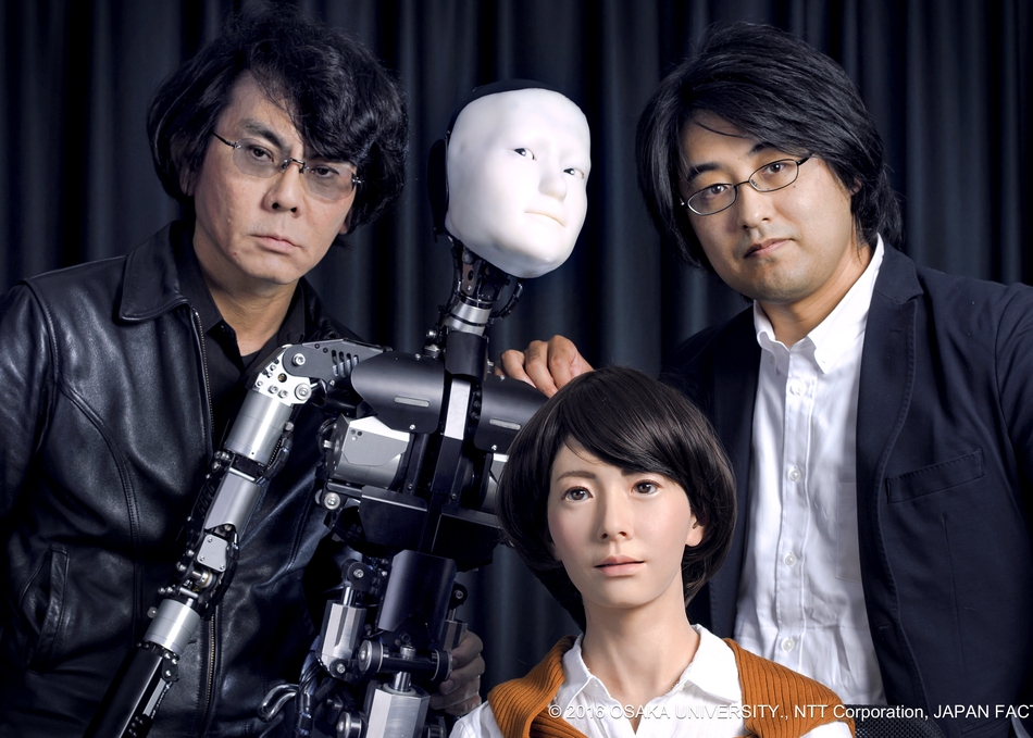Humans and Robots in a Free-for-All Discussion