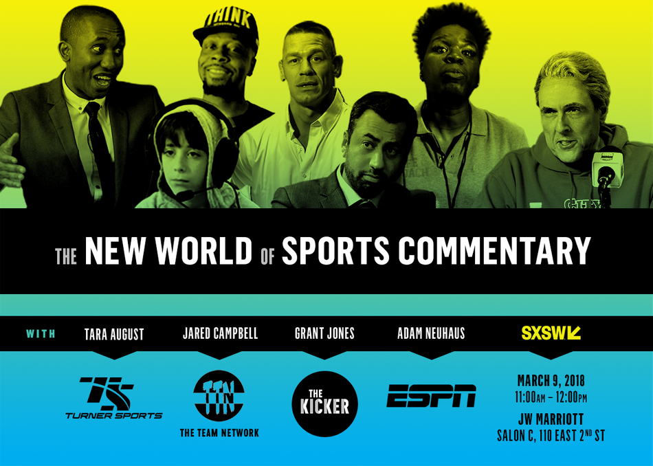 The New World of Sports Commentary