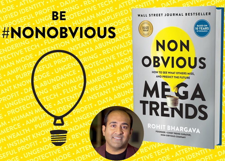 Featured Session: 10 Non-Obvious Megatrends Changing Our Culture