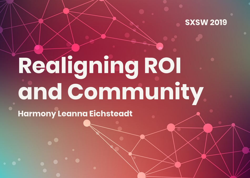Realigning ROI and Community