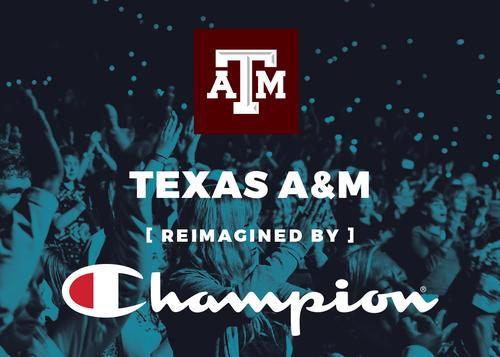 TEXAS A&M AT SXSW REIMAGINED BY CHAMPION