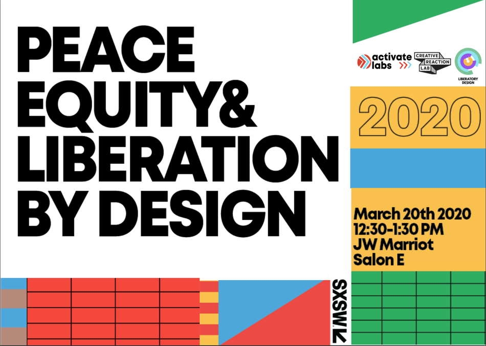 Peace, Equity and Liberation by Design