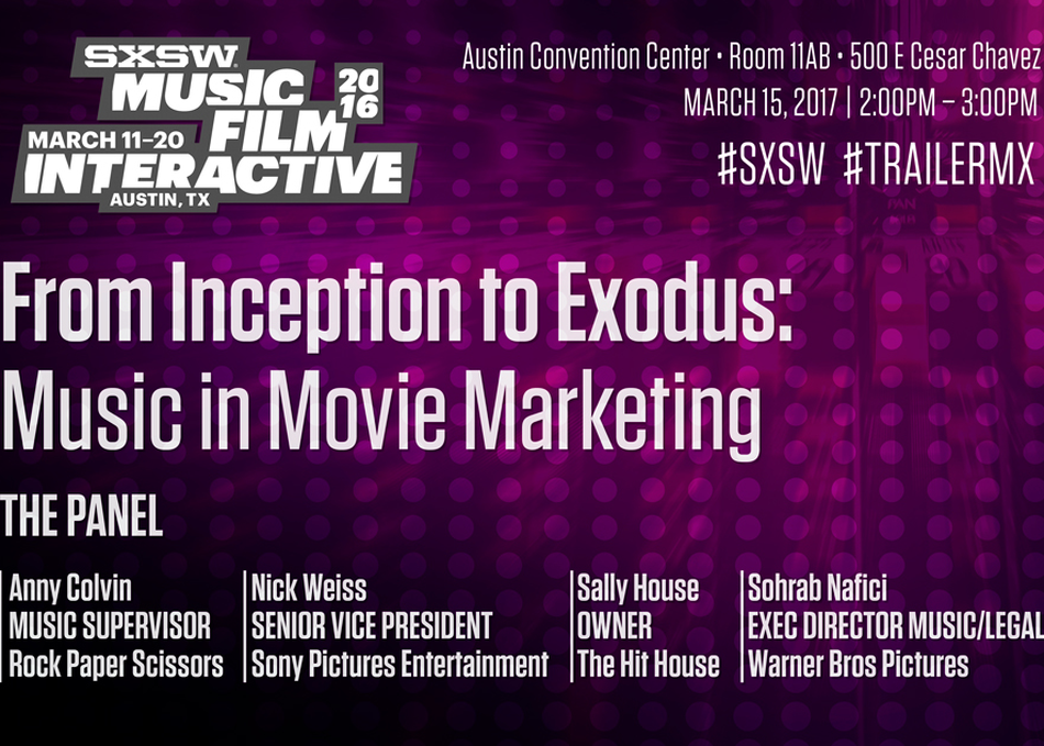 From Inception to Exodus: Music in Movie Marketing
